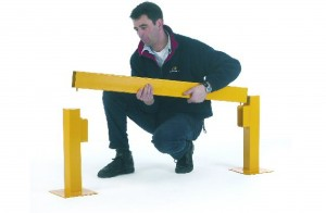 Storage Systems (Glos) Ltd offer a range of barriers throughout Gloucestershire including these lift-out barriers.