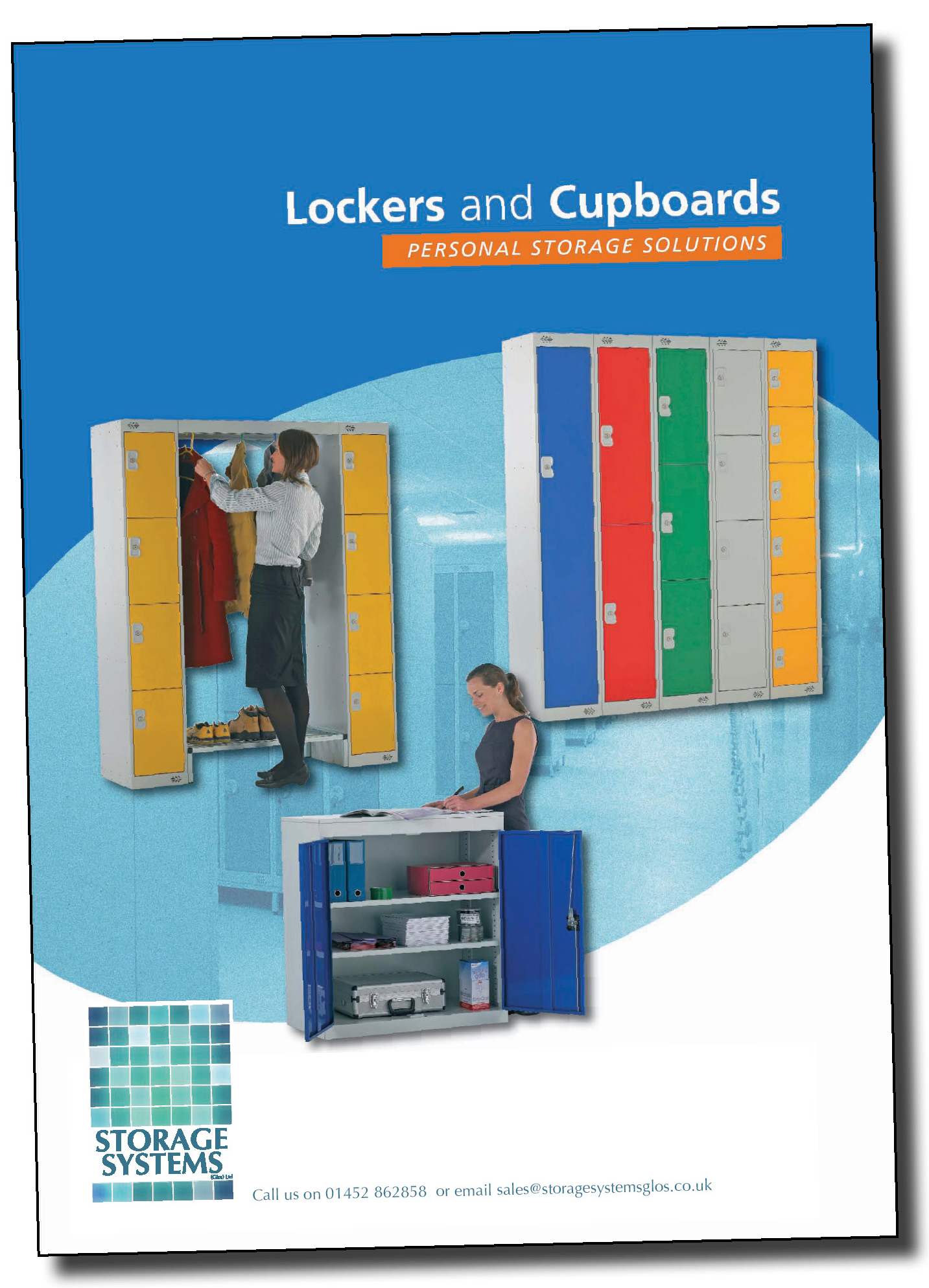 Click to download Gloucestershire lockers supplier Storage Systems' brochure