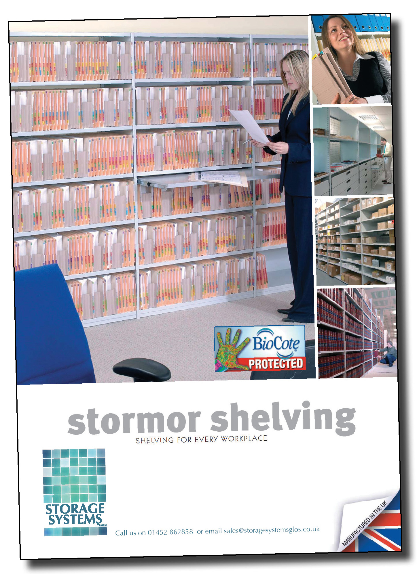 Click here to download Storae Systems (Glos) Ltd Office & Warehouse storage brochure